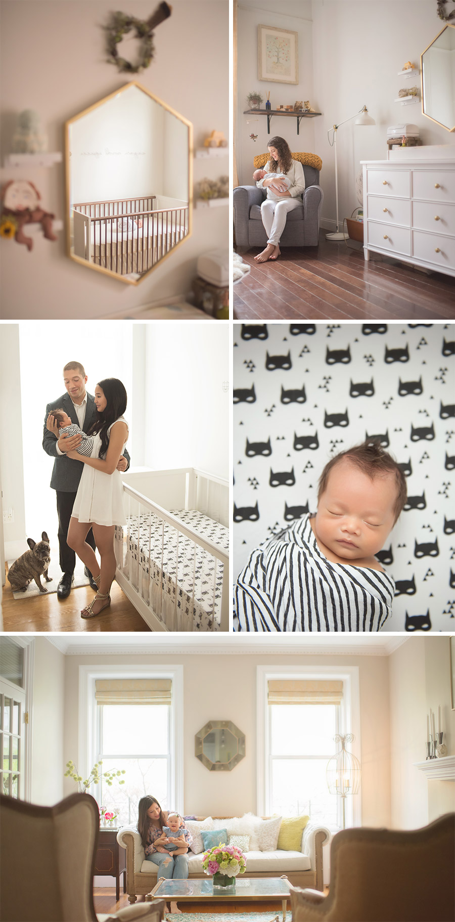 westchester baby photographer home nyc