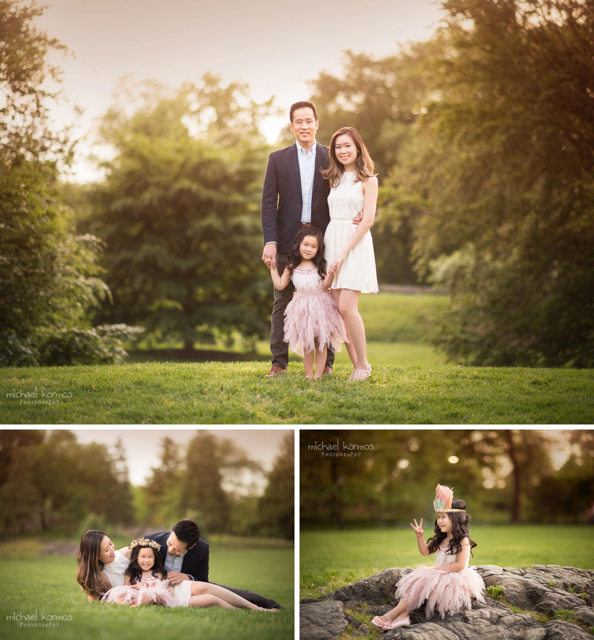 the best NYC Central Park Family Photographer