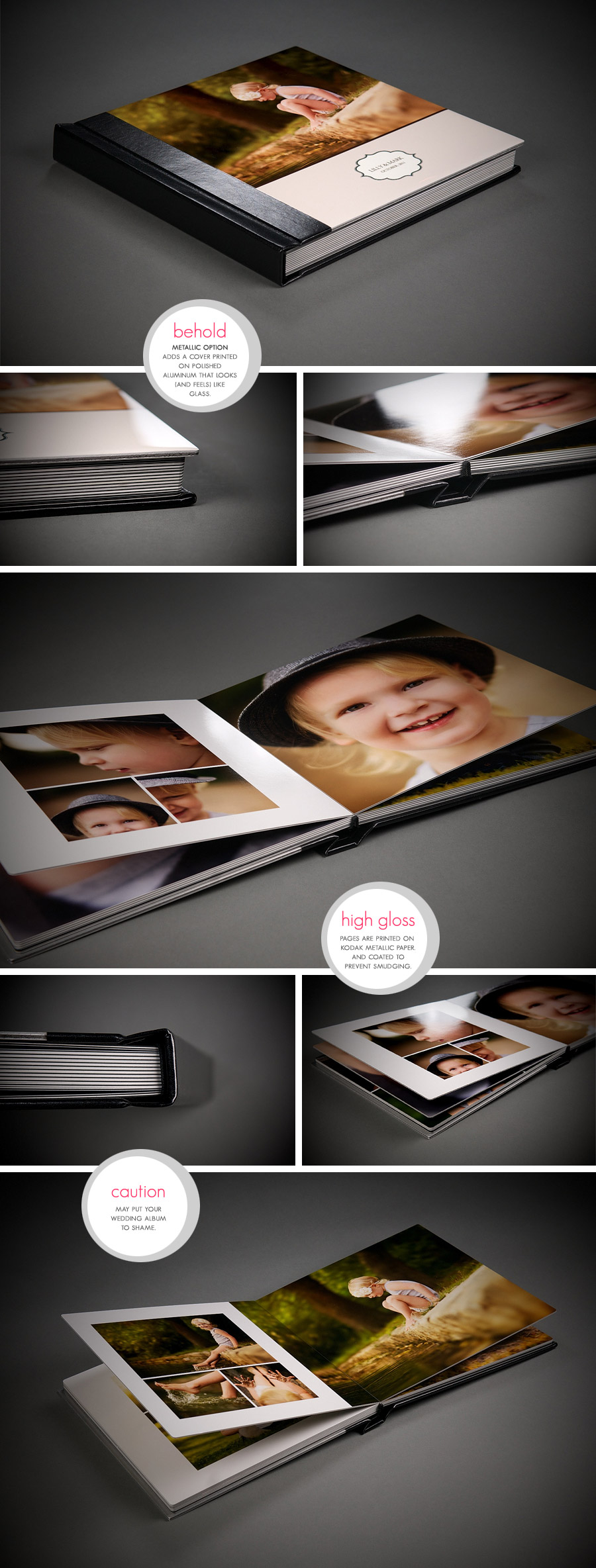 Keepsake Albums - NYC Family Photography by Michael and Sophie Kormos, specializing in fresh and modern portraits.