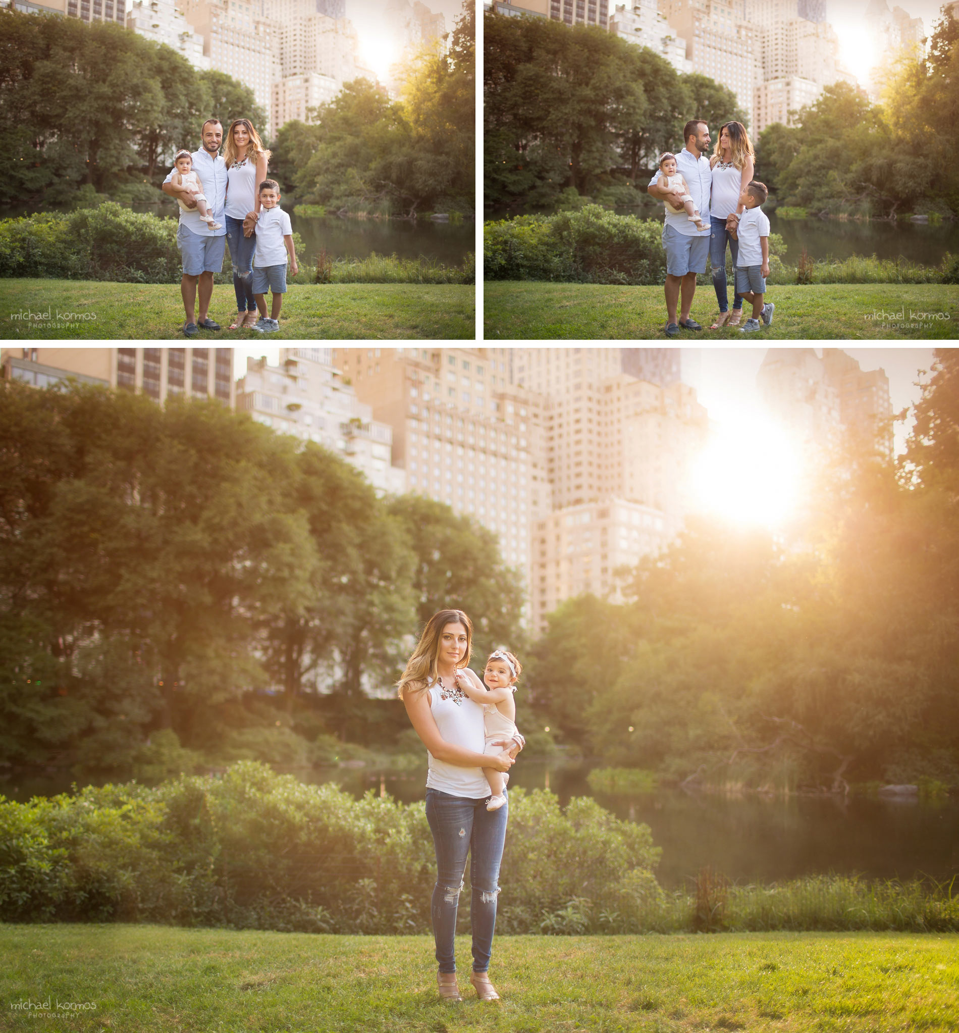 Natural NYC Central Park Baby Photography