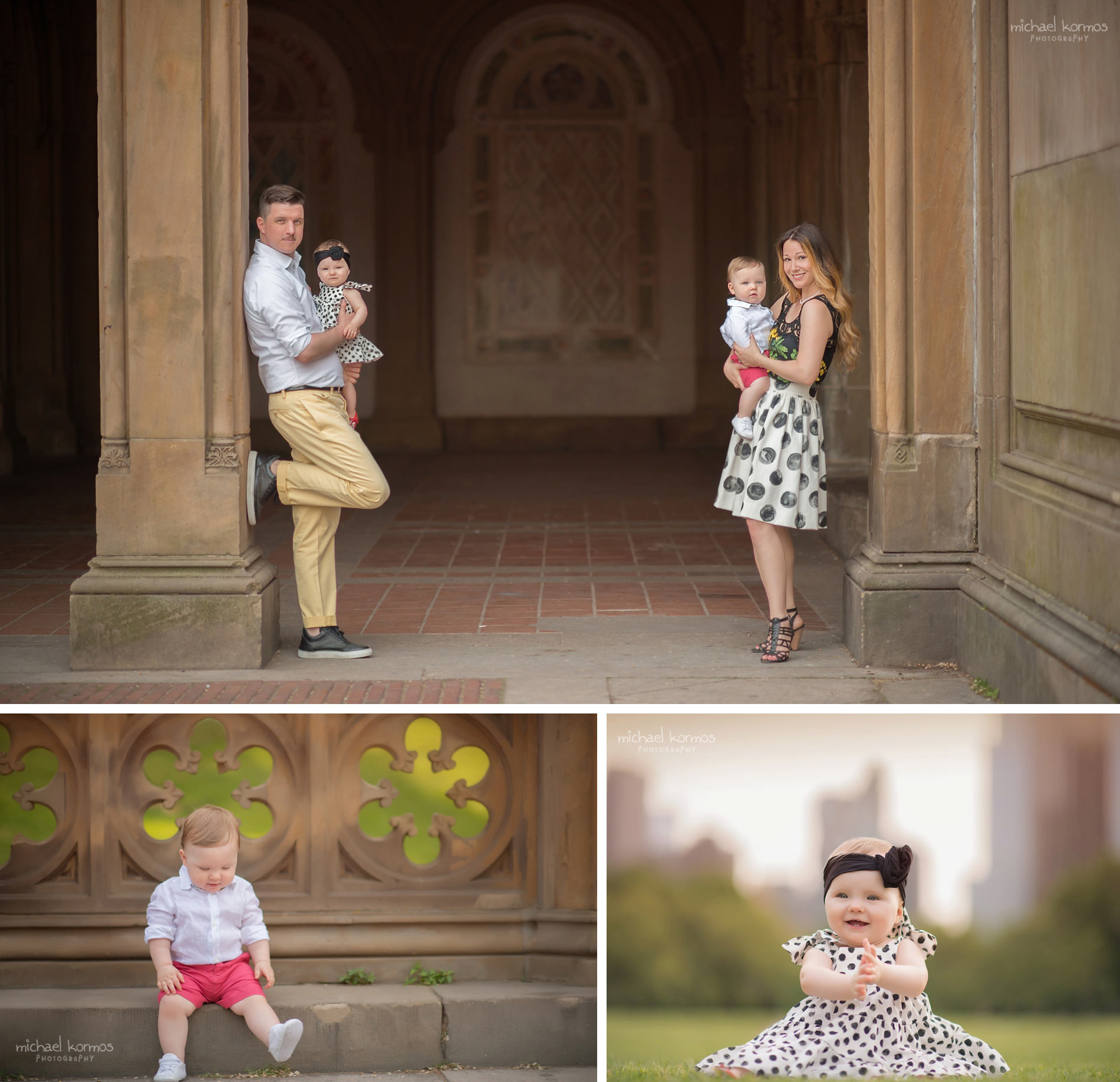 the best NYC Central Park Baby and Family Photographer