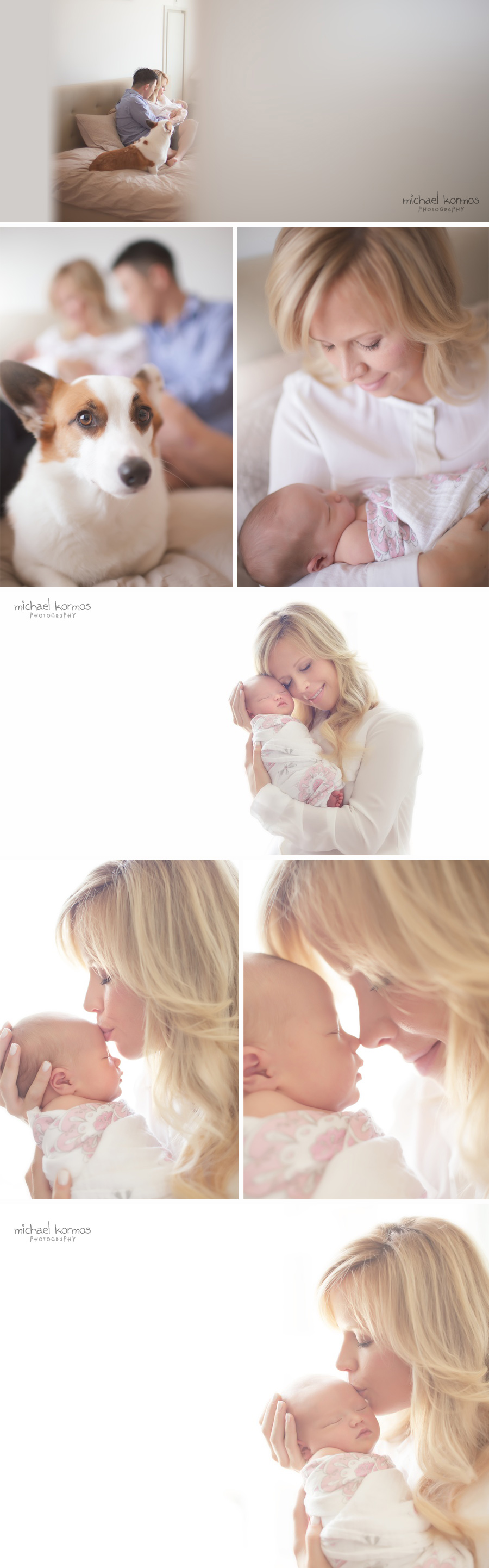 NYC Photo: Mother truly glows with the happiness of a brand new bundle of joy in her arms