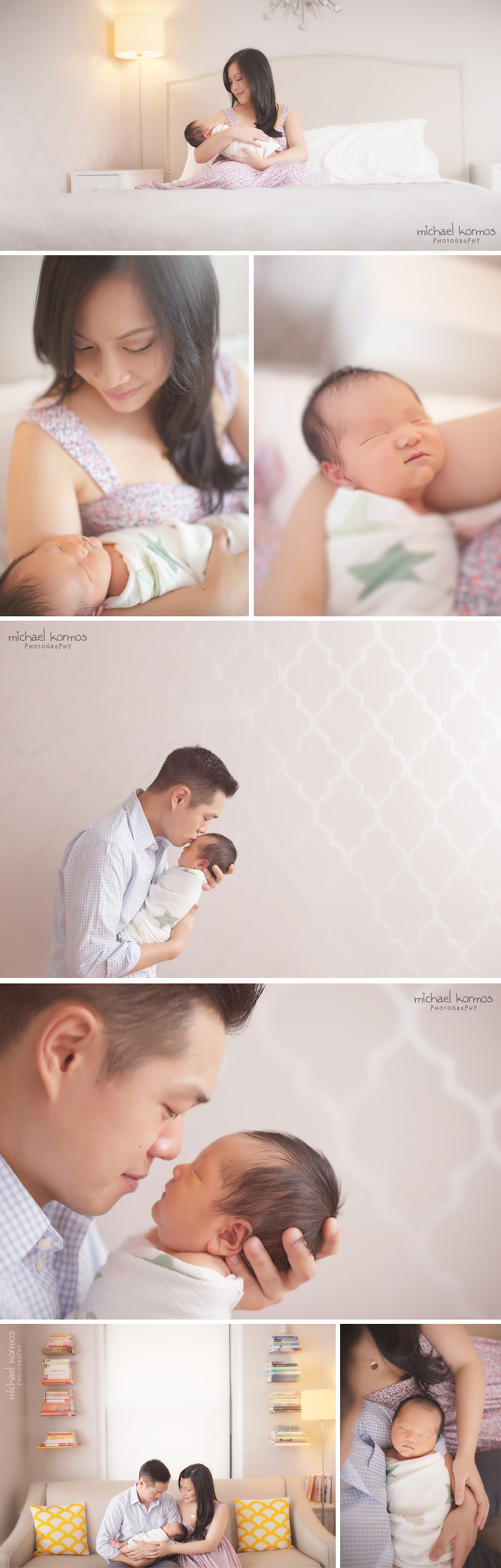 modern lifestyle session to capture meaningful newborn and family photography