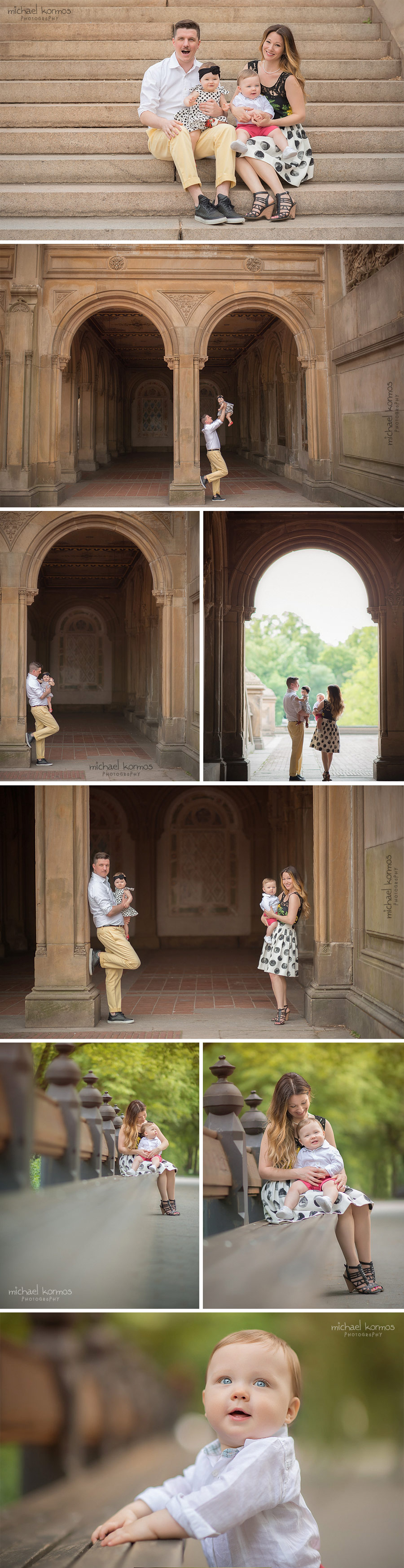 Central Park lifestyle family photo shoot