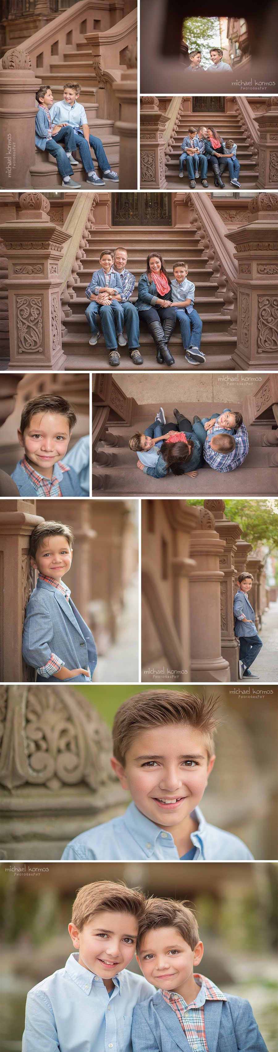 lifestyle Central Park family photo shoot