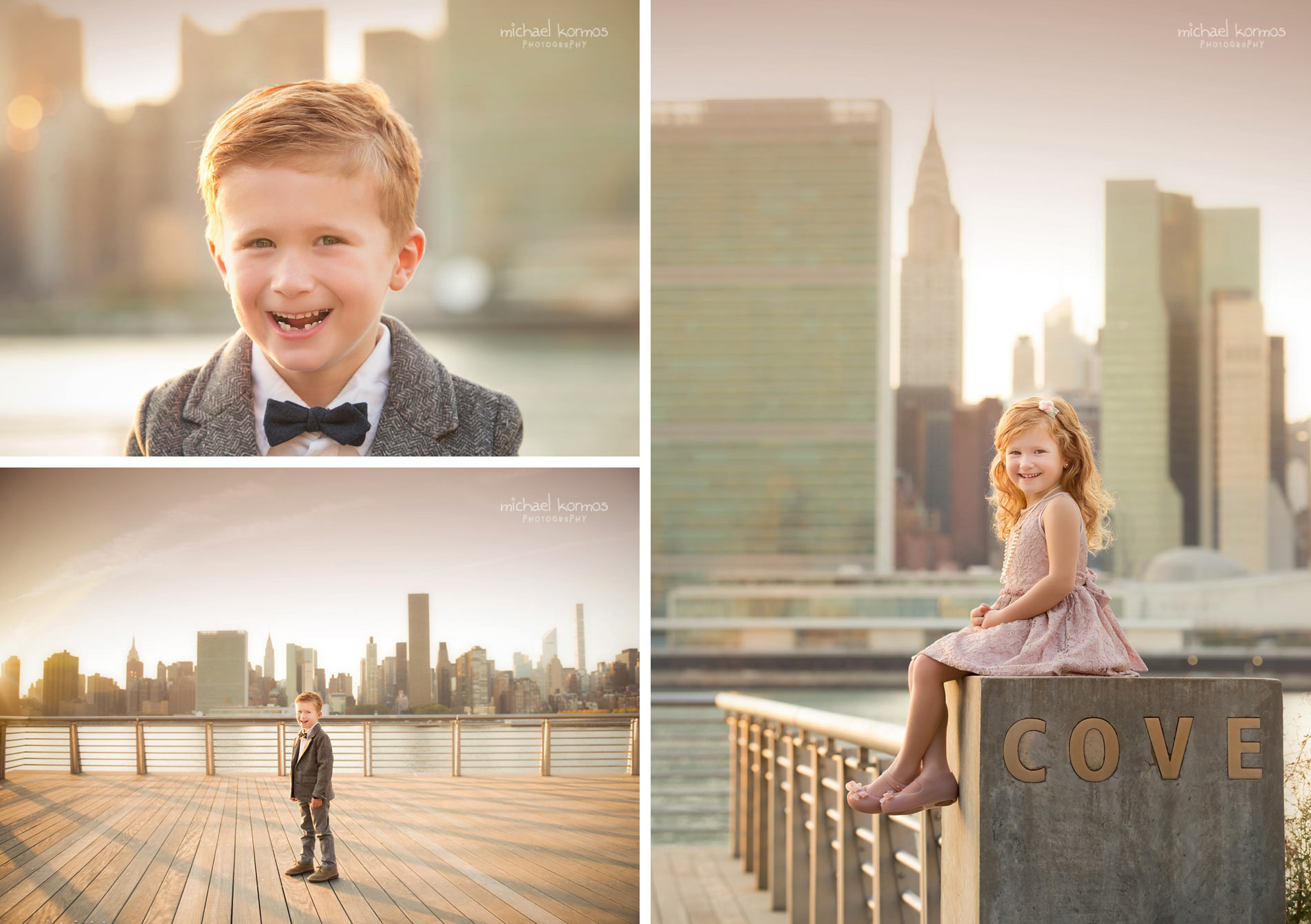 best NYC GANTRY PLAZA Family Photographer
