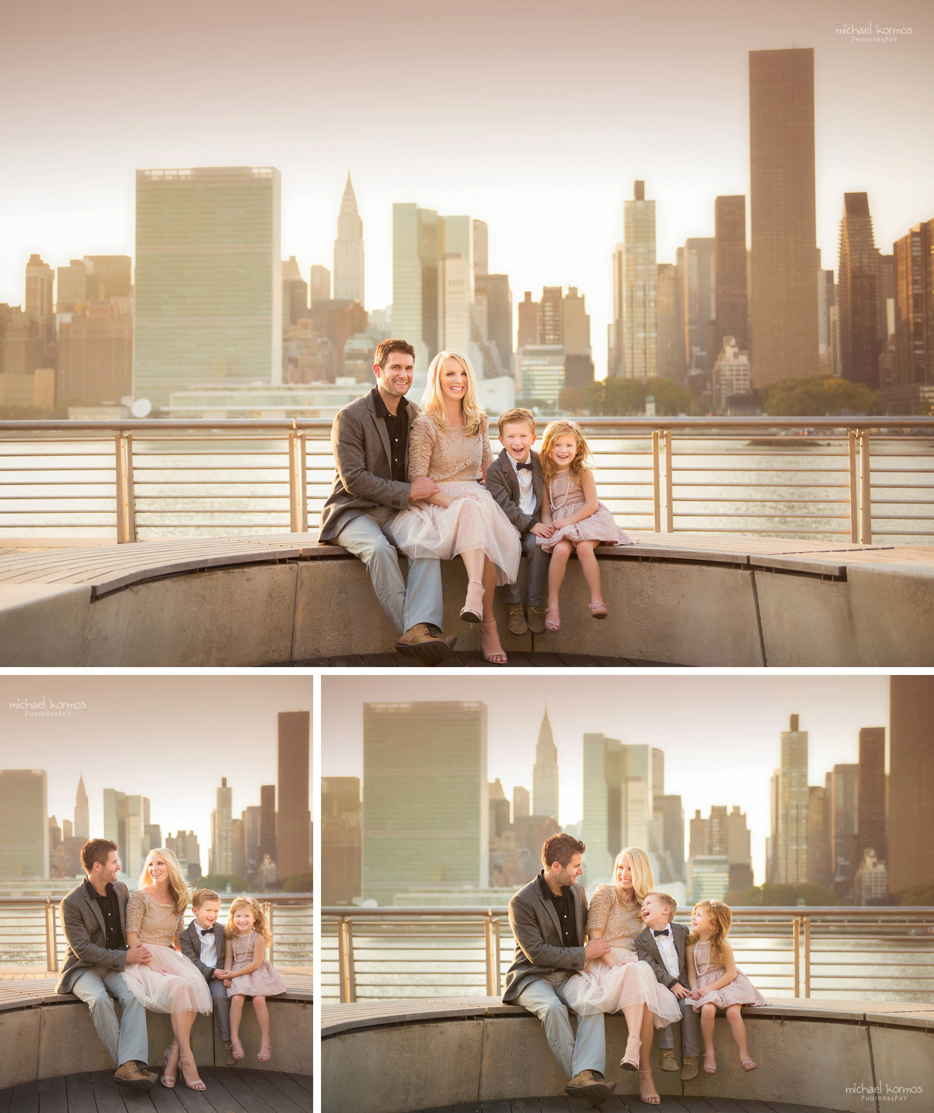 Gantry Plaza Park Family and Baby Photography