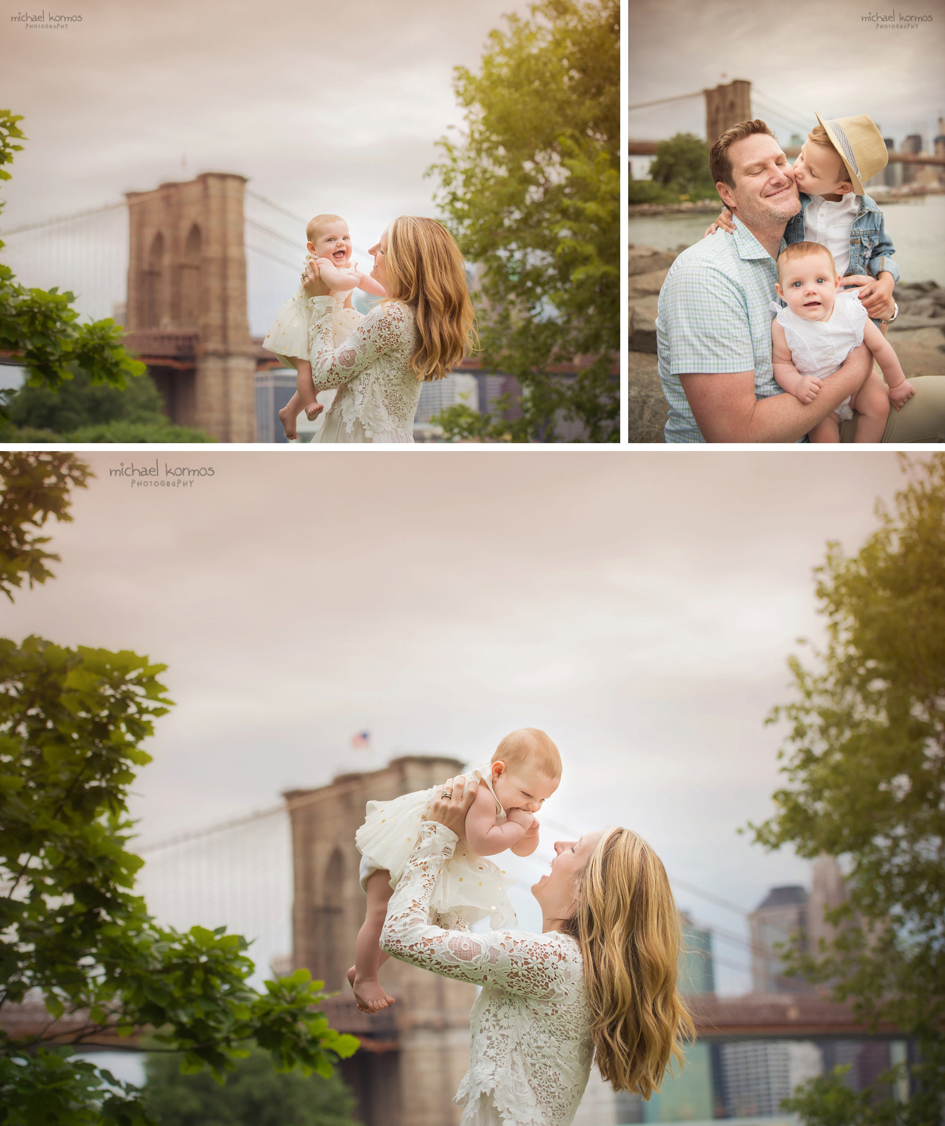 NYC Dumbo Family and Baby Photography Central Park