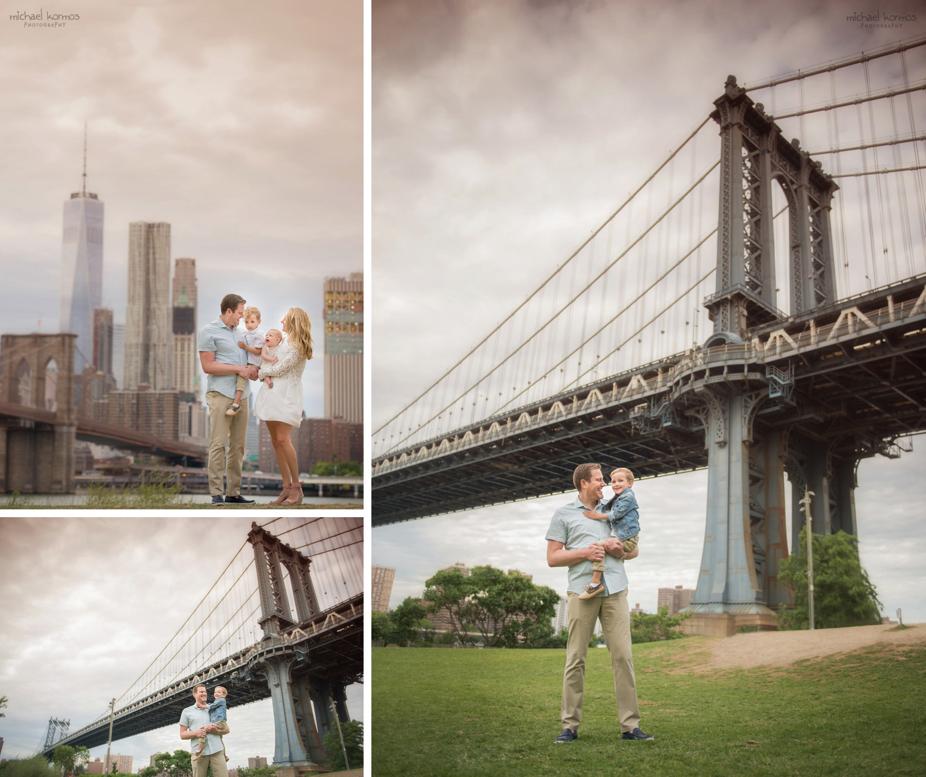 NYC Dumbo Family and Baby Photographer Central Park