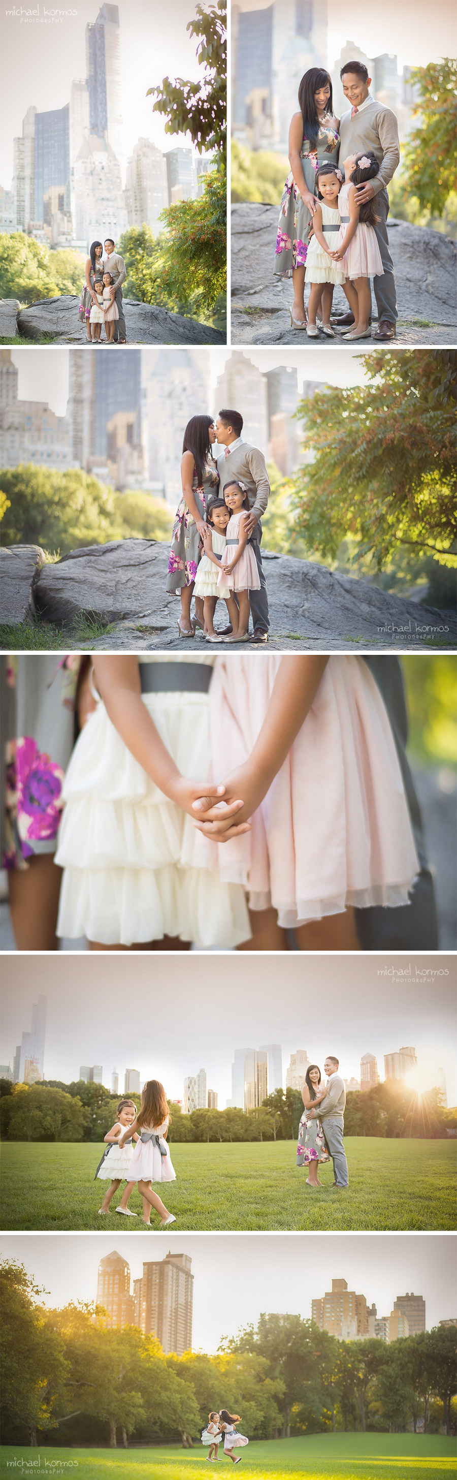 family photographer capturing moments in central park