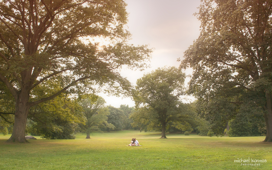 family portraits captured in westchester fields