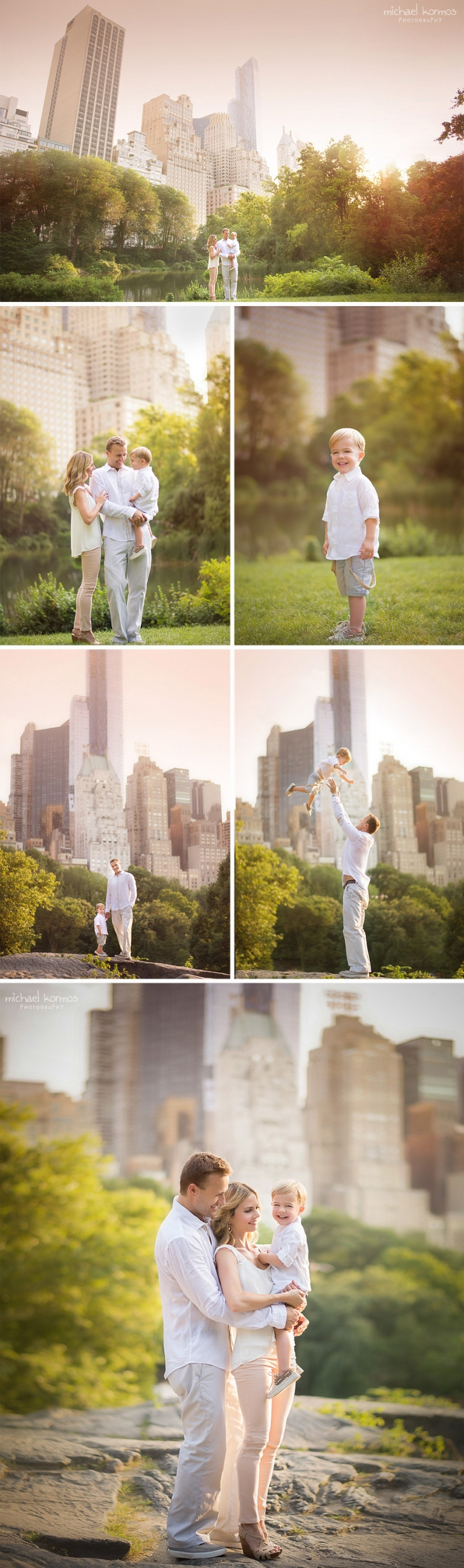 lifestyle baby photography captured in Central Park