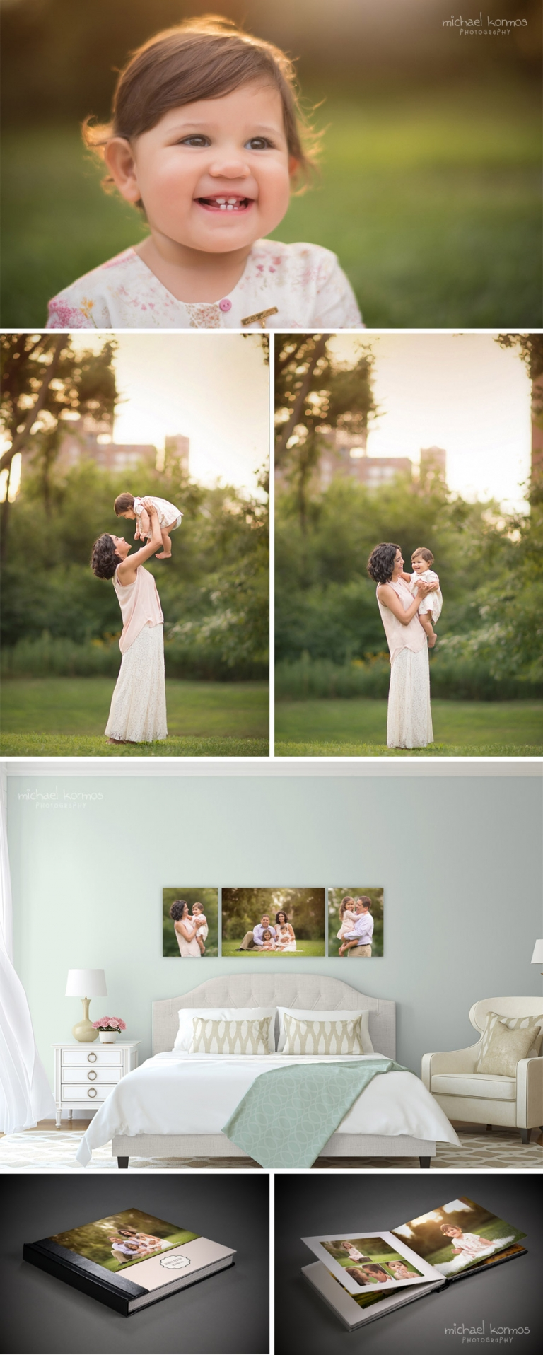 professional NYC baby portraits in Central Park