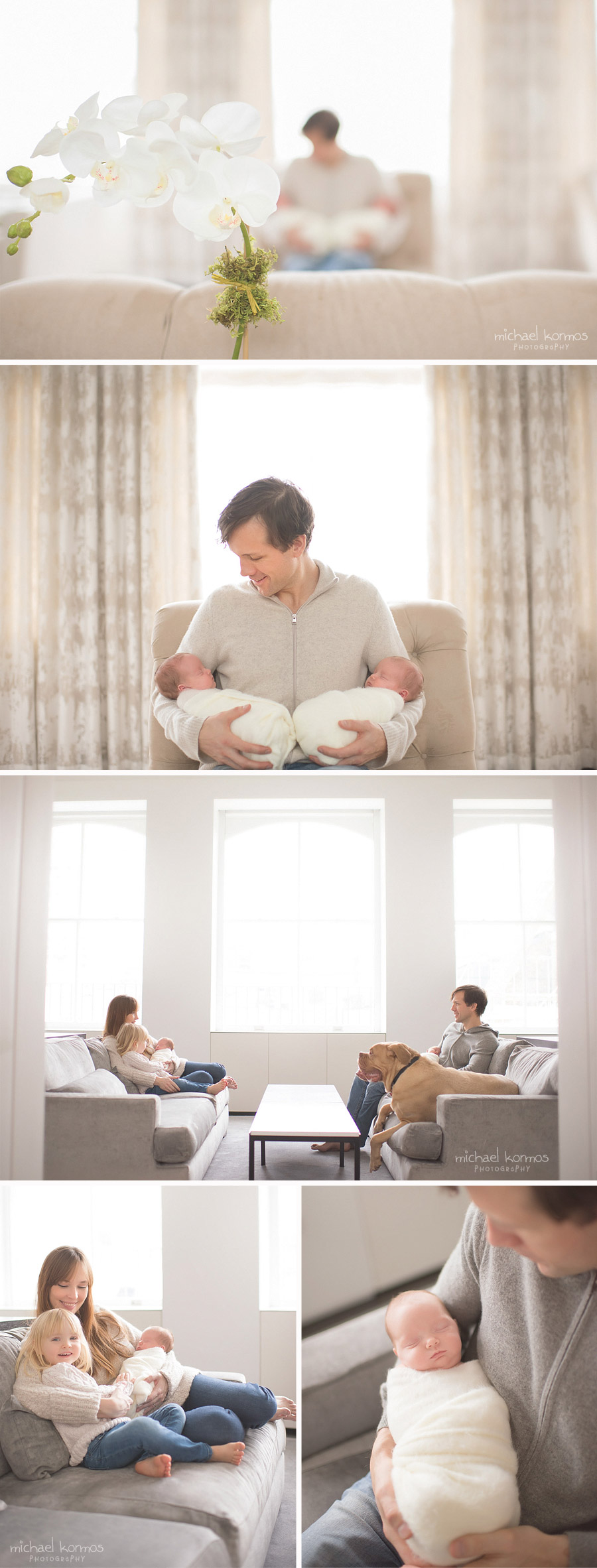nyc manhattan home newborn photographer