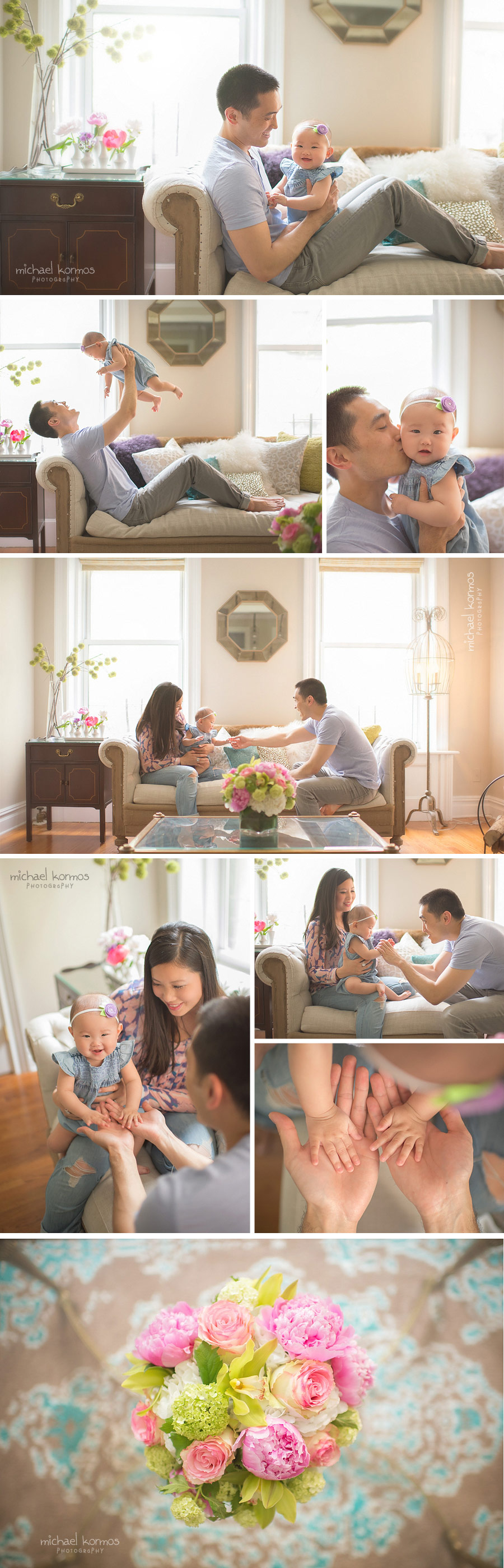 best lifestyle baby photography studio nyc