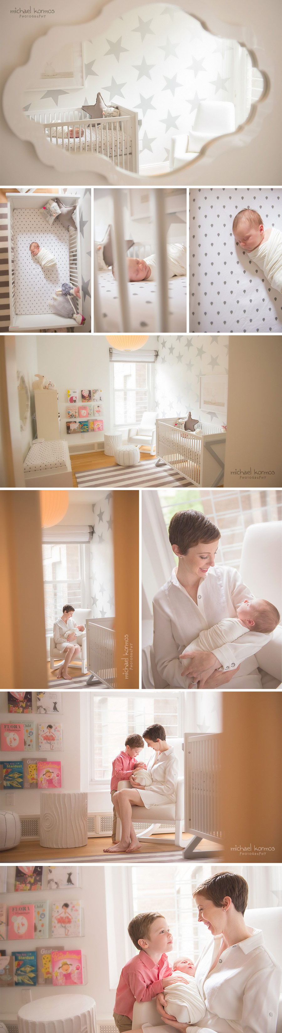 nyc home lifestyle newborn photo shoot
