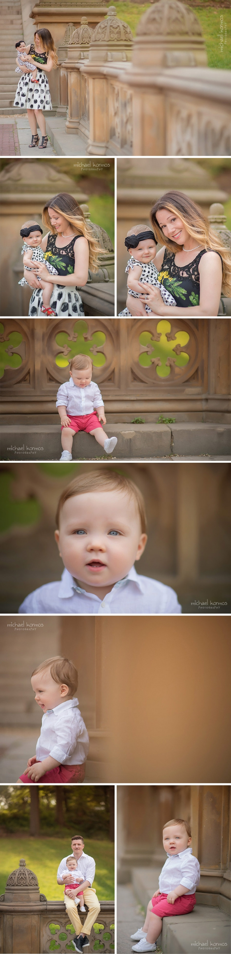 NYC best baby photographer outdoors