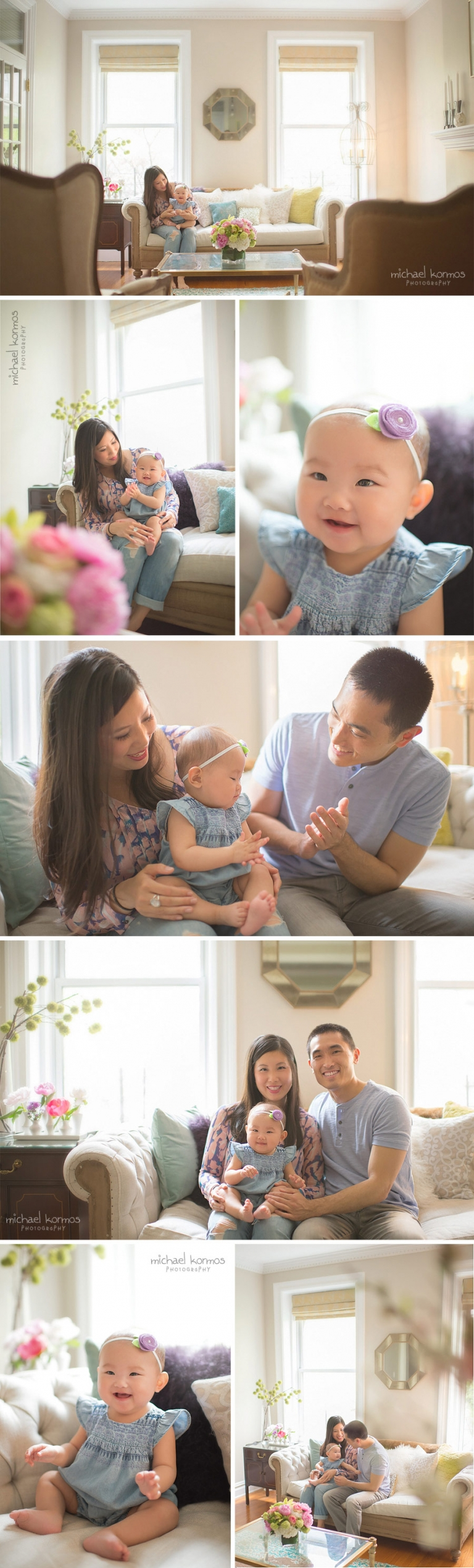 manhattan home baby photographer