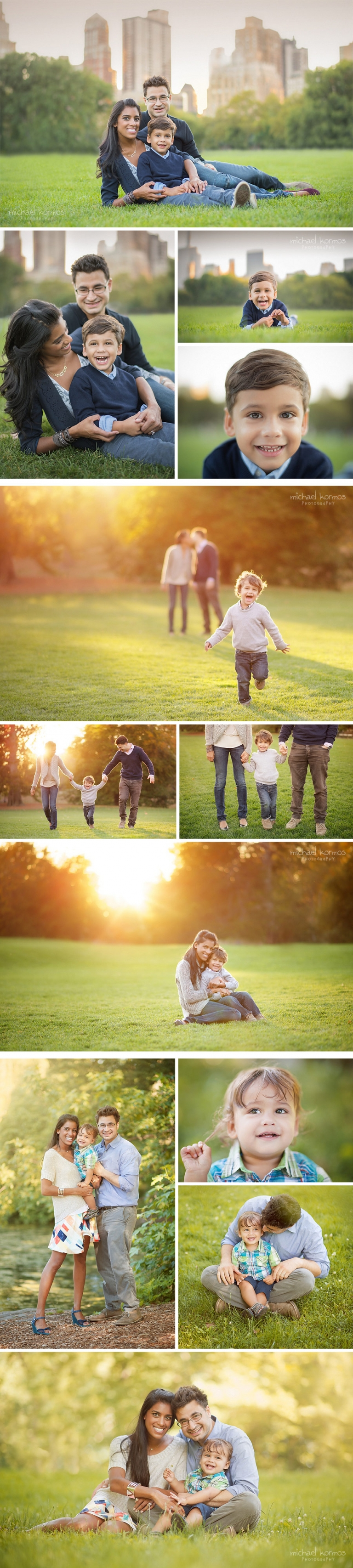 central park family photography