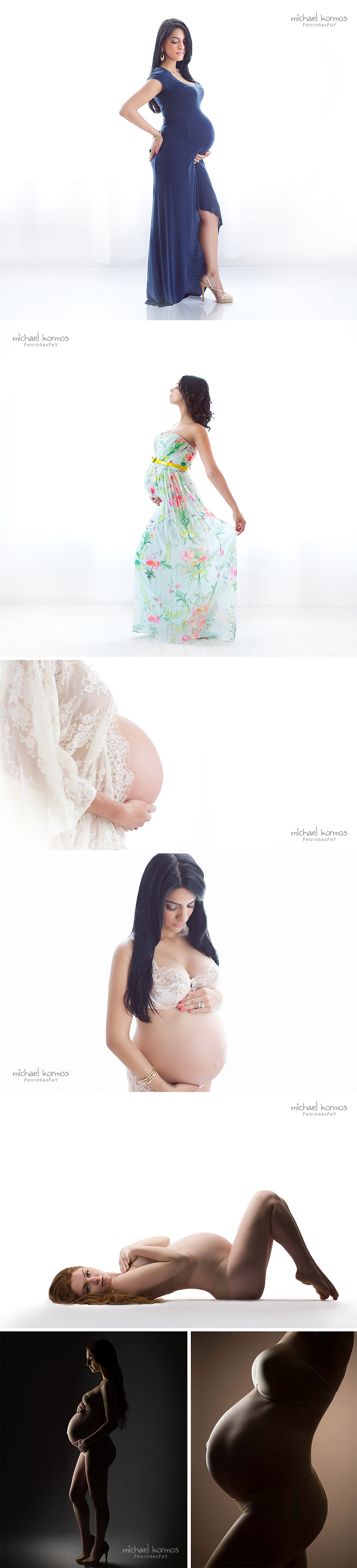 bright maternity photography studio nyc