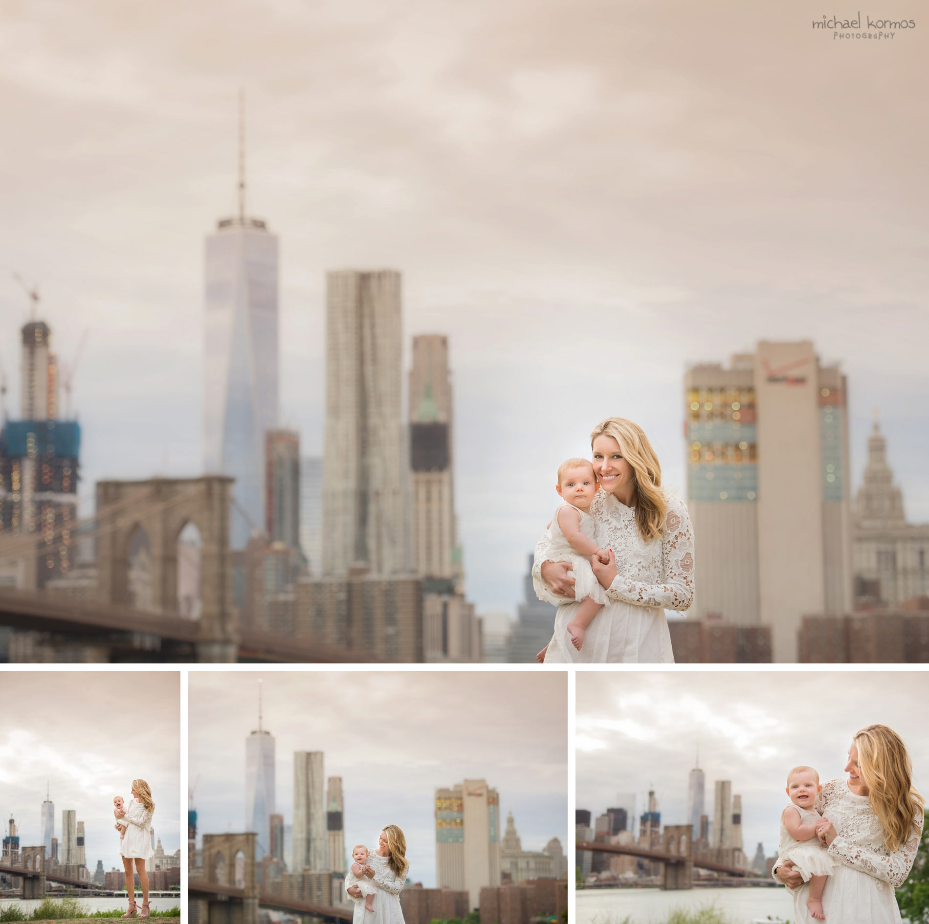 NYC Gantry Plaza Family Photographer Central Park