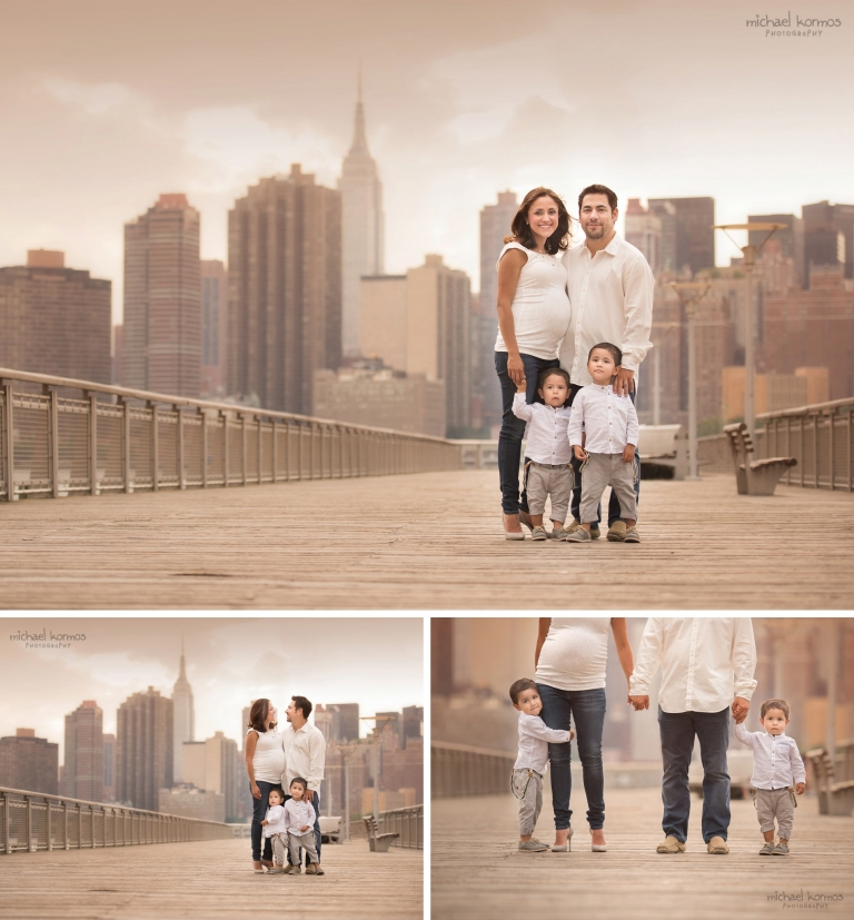BEST NYC Family-Photo-Shoot-Outdoors-Gantry Plaza
