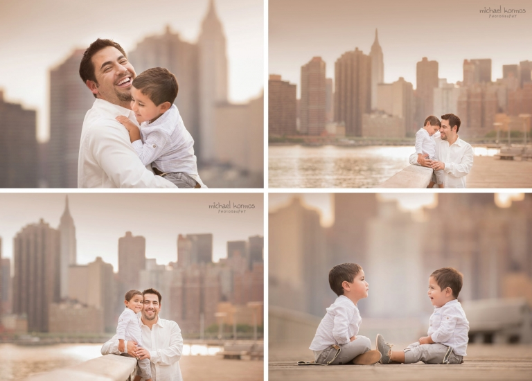 Best nyc and westchester family photo shoot gantry plaza