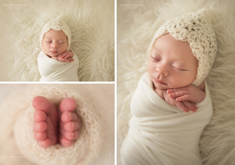 the Best NYC newborn studio photography photographer midtown manhattan