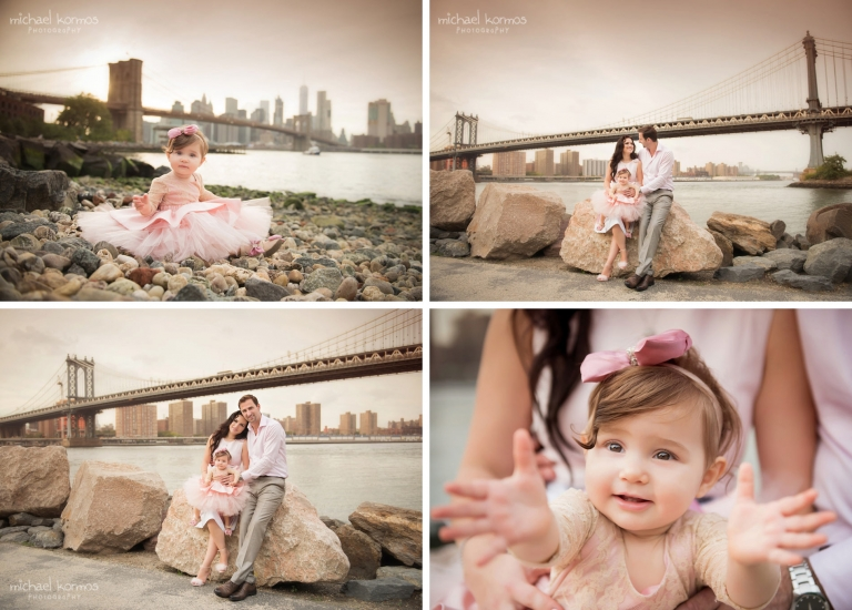 NYC DUMBO Family Photography Session