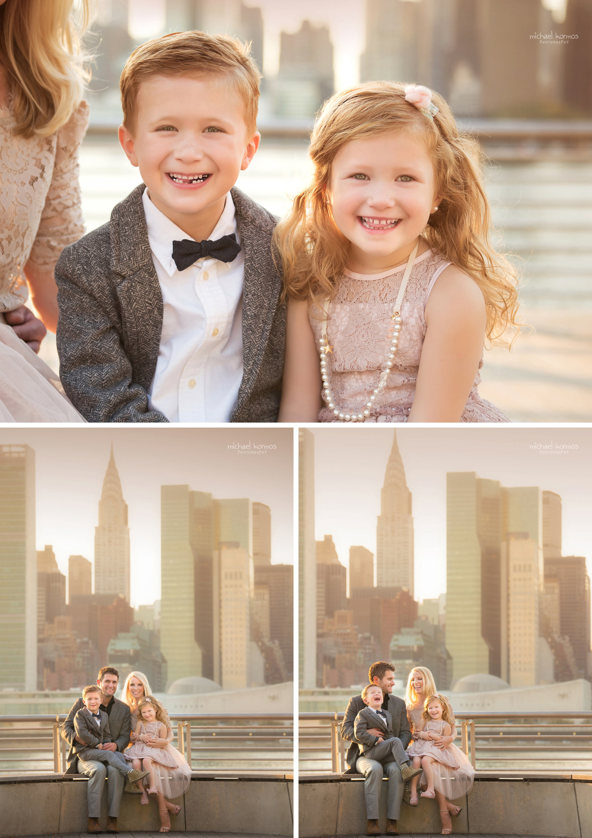 the best NYC GANTRY PLAZA Family Photographer