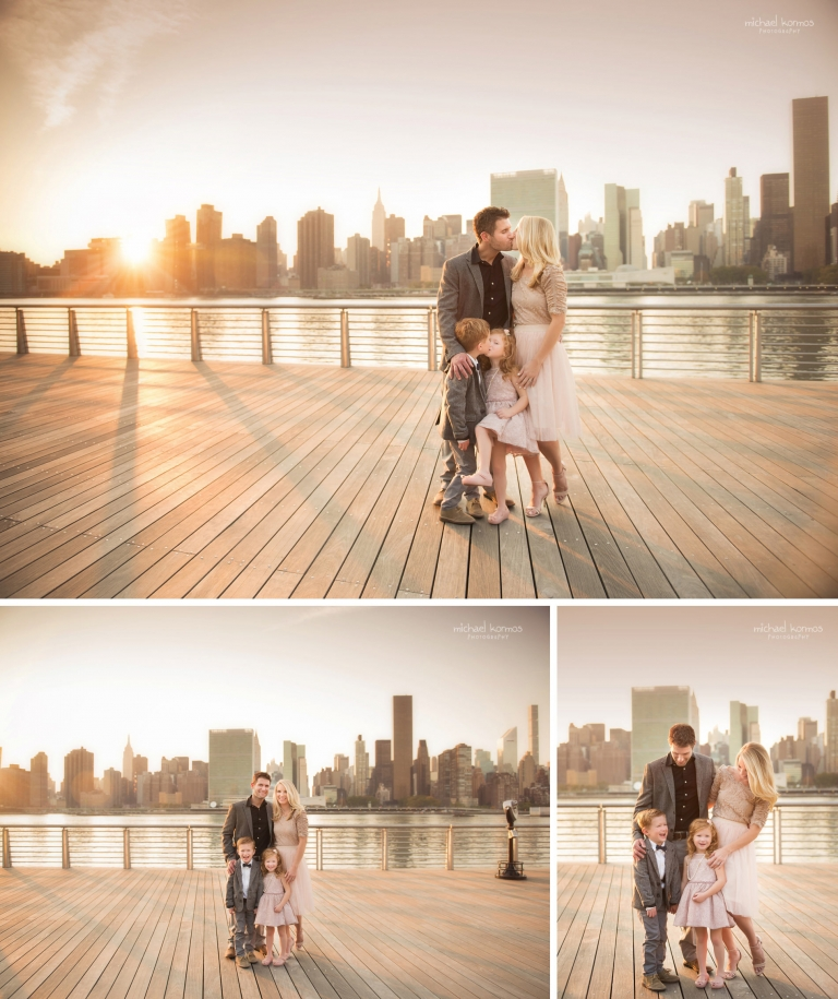 Best nyc family maternity childrens photographer gantry plaza