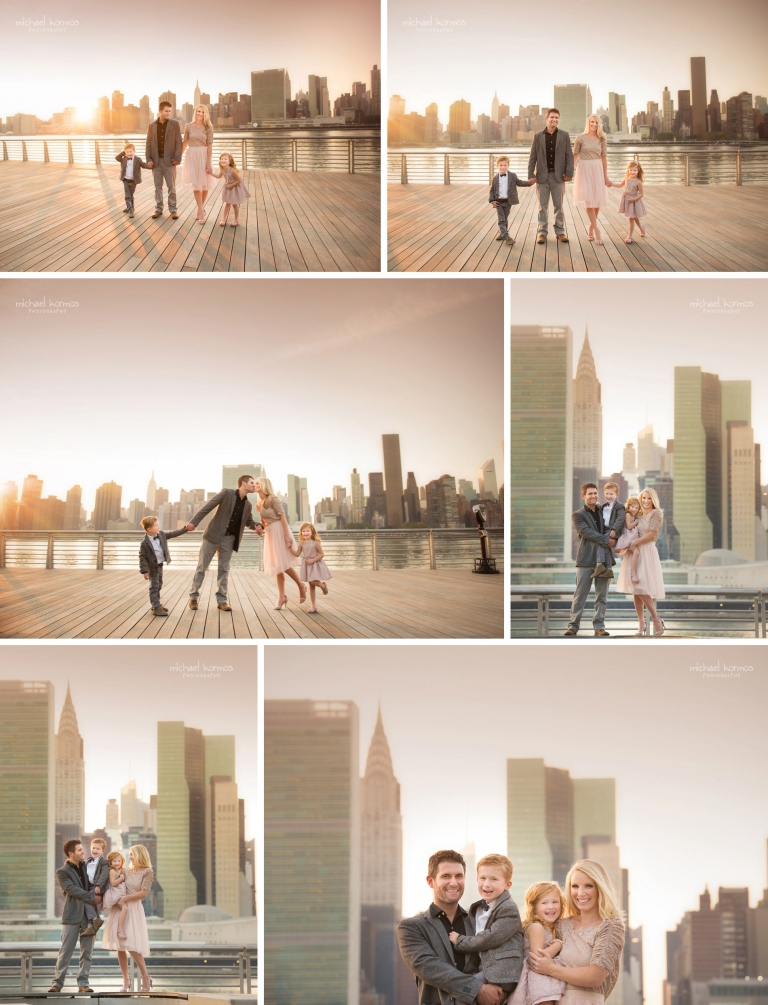 NYC GANTRY PLAZA Family Photographer