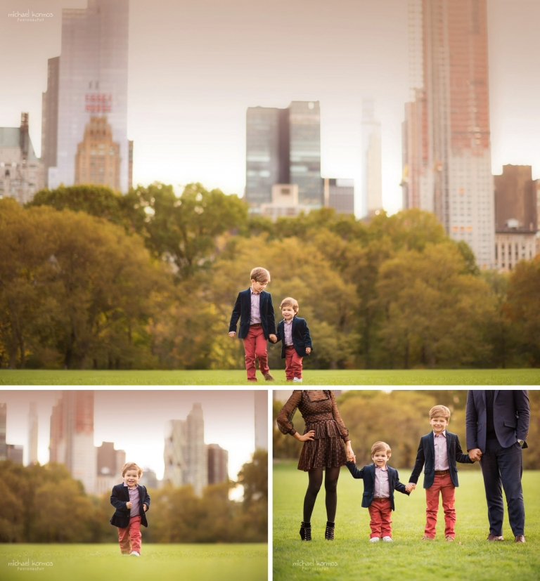 Natural NYC Central Park Family Photography