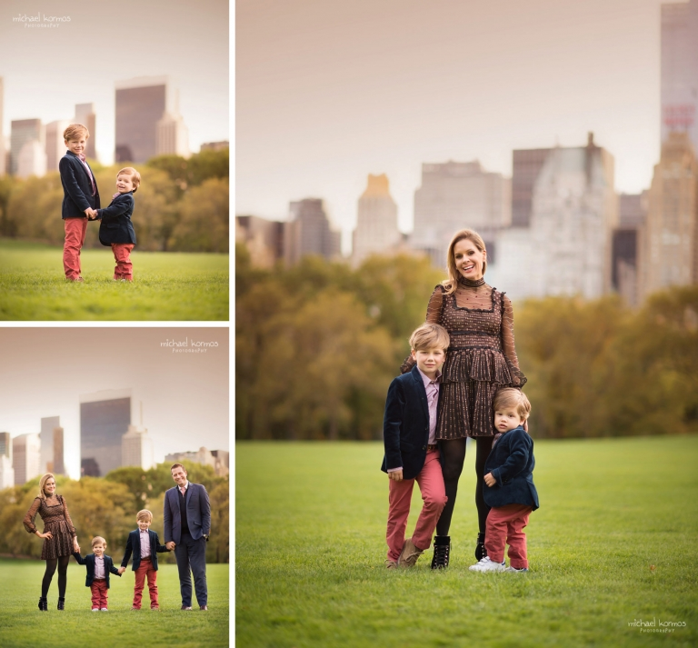 Natural NYC Central Park Family Photographer