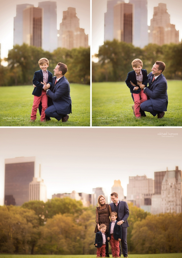 NYC Central Park Family Fall Holiday Photographer
