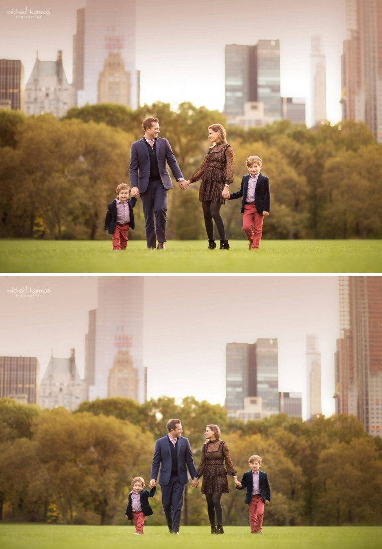 NYC FALL Central Park Family Photography Session