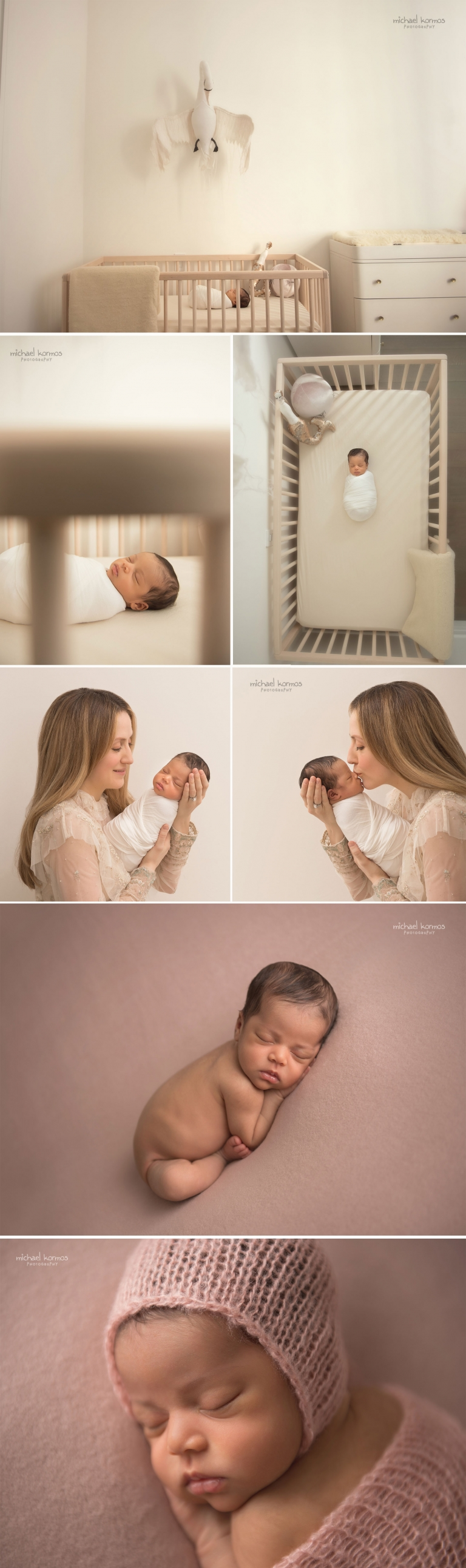 nyc newborn photographer home nursery