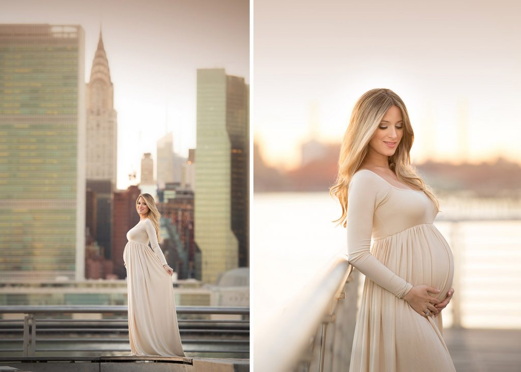 nyc maternity portrait photographer