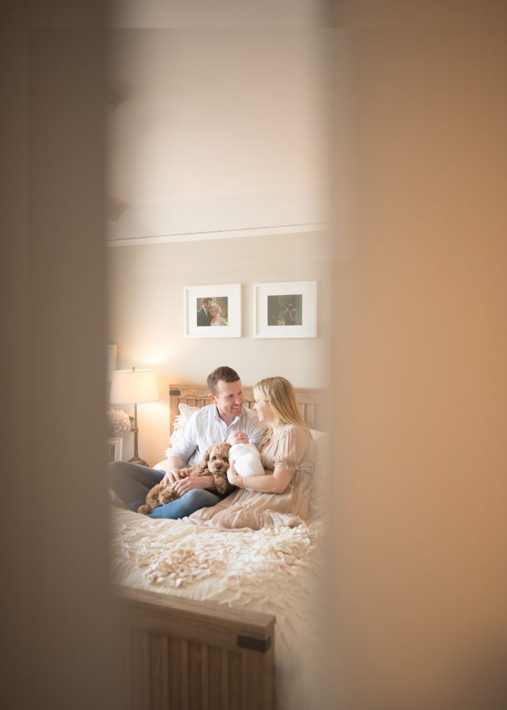 westchester home newborn photography