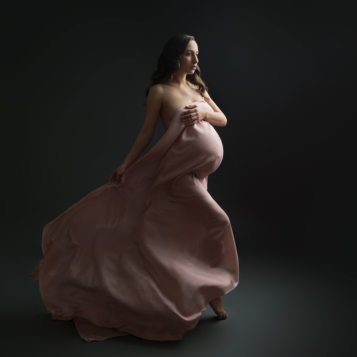 model maternity studio black nyc